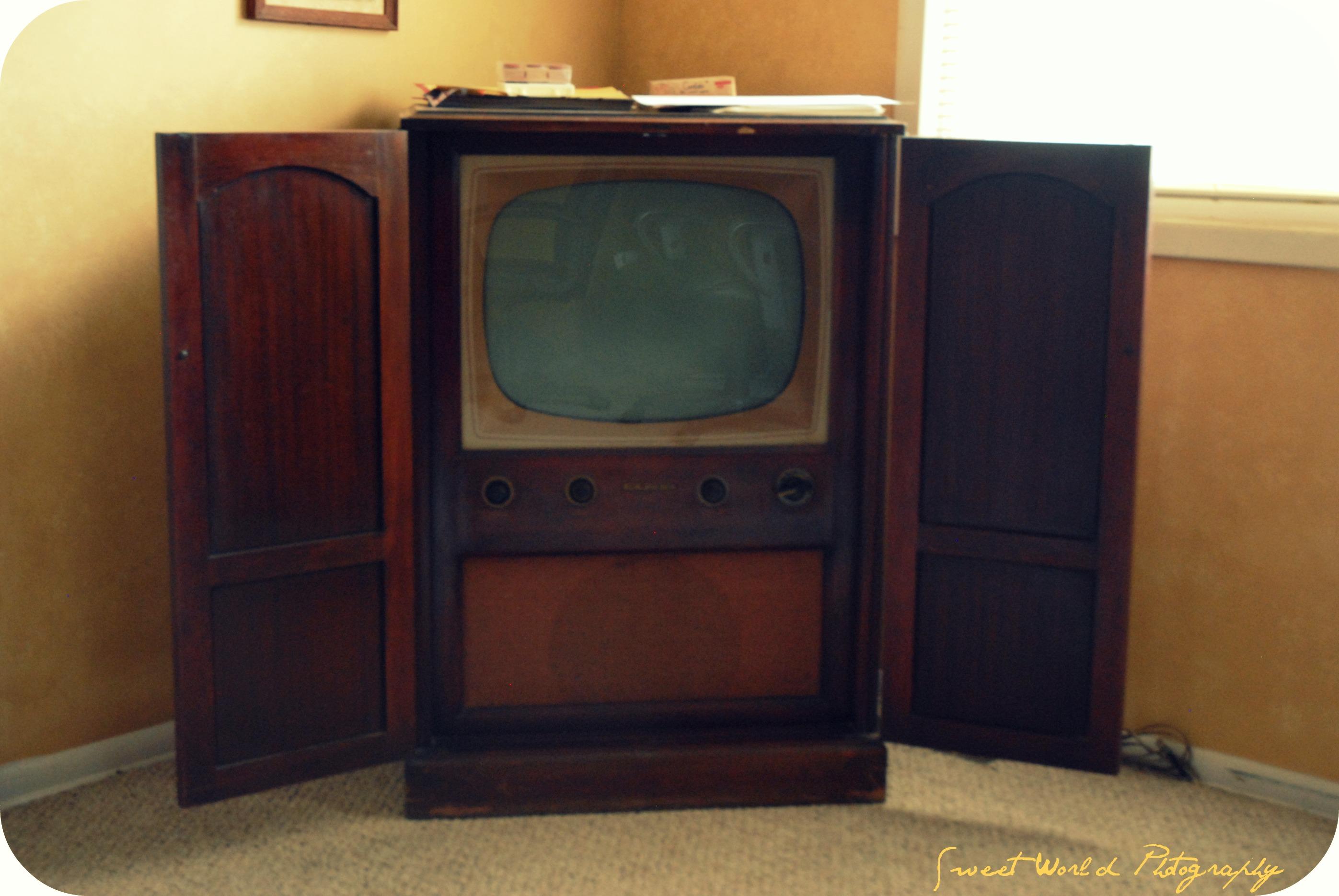Wonderful Vintage Rca Victor Tv Cabinet Memsaheb Net